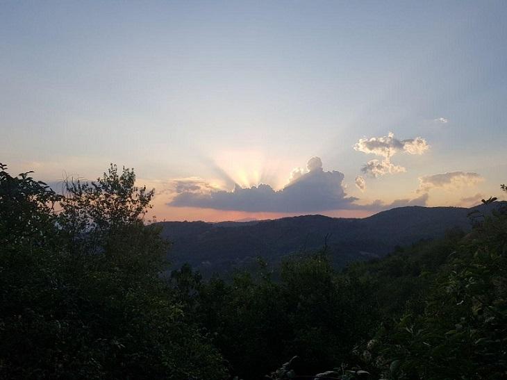 tramonto morra